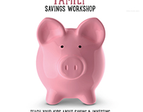 Family Savings Workshop flyer