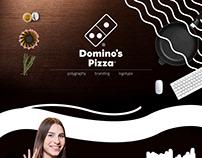 Полиграфическая продукция для Domino's Pizza
