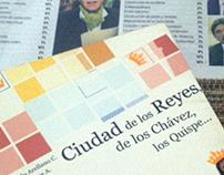 Book Cover Design: Lima, Ciudad de los Reyes