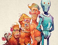 Robotics and AI for Penthouse Magazine