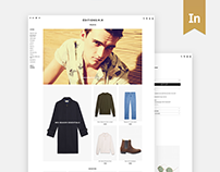 EDITIONS M.R - Redesign Website