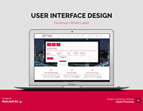 User Interface Design for Haramayn White Label