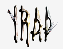 Trap Typographic Art