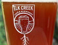 Elk Creek Café & Aleworks Branding