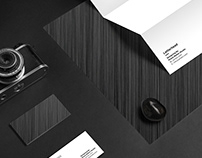 Mockup A4 Paper and Business Card Photography
