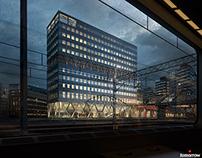 SEB Headquarter in Stockholm - Alessandro Ripellino