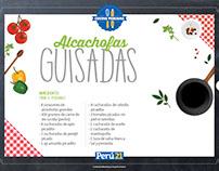 Cartillas Cocina Peruana
