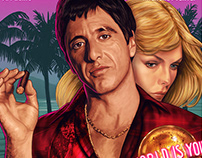 Scarface (officially licensed poster)
