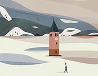 Landscape illustrations