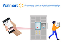 Walmart Pharmacy Locker Application Design