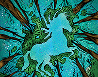 Darkhorse Editorial Illustration