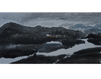 《山川 系列》2016 - 纸本水墨