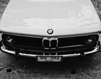 BMW 2002 Classic B&W