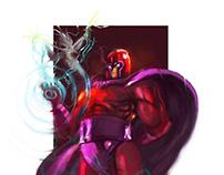 Magneto viernes de ilustración