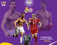 Champions League (Bayern Munich vs. Real Madrid)