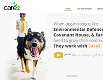 Care2 Website Design