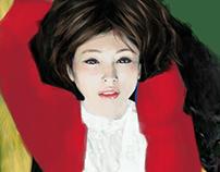 Cappuccetto Rosso e Il Lupo | Digital Painting