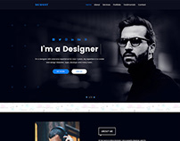 Personal Portfolio Template Design Free Download