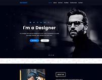 Personal Portfolio Template Design Free Download