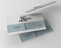 Jeff Miguel Music - Business Card