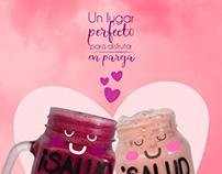 Amor en Rosa [Campaña] RRSS::: SanoBar