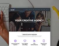 Zenith WordPress Theme - Portfolio & Agency Templates