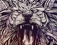 LION  WILD FIRE