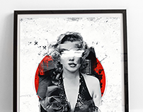 Norma Jean Poster Design