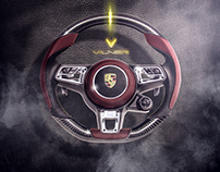 luxury steering wheels