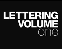 Lettering Volume One