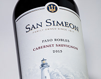 San Simeon - Label & Packaging Design