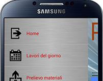 AndroidStudio-App di servizio