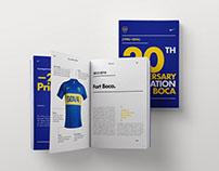 Boca Juniors & Nike— 20th anniversary