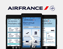 Air France - Windows Phone App