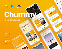 Chummy Social UI Kit