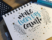 Hand Lettering from my Sketchbook.