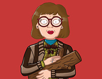 Twin Peaks Character Illustrations