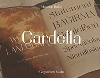 BM Cardella Typeface