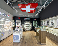 Zifferblatt — Освещение магазина часов