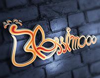 Clean & Stylish Logo of Blessimooo....