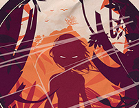 Lord of the Flies Poster Illustration
