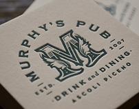 MURPHY'S PUB _ brand identity