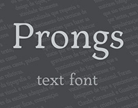 Prongs typefont