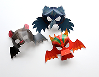Halloween Kids Masks