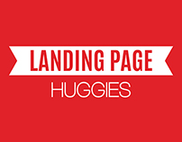 HUGGIES - Landing Page