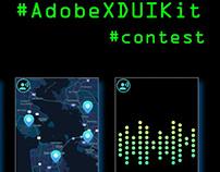 Adobe XD UI Kit Contest Entry