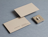 Monogram & Business cards for PB.