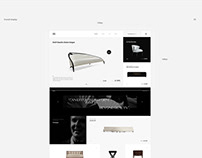 Christopher Guy / Website concept