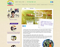 Dodla Diary website design