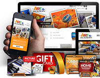 Art Academy CMS online solution- Education Industry